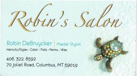 Robin's Salon located in Columbus, Montana