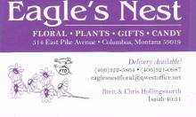 Eagles Nest Floral & Gifts located in Columbus, Montana